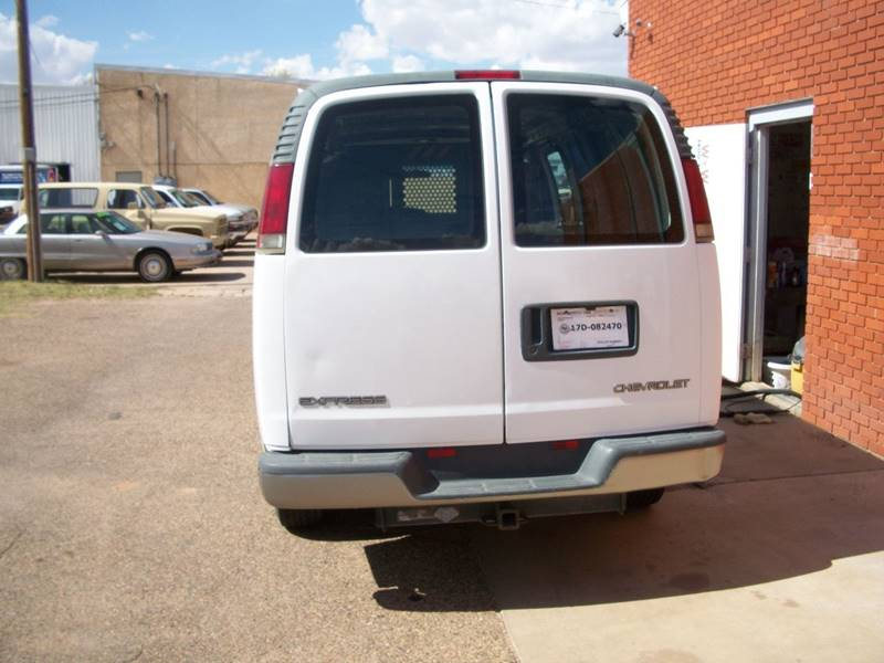 2002 Chevrolet Express Cargo for sale at W & W MOTORS in Clovis NM