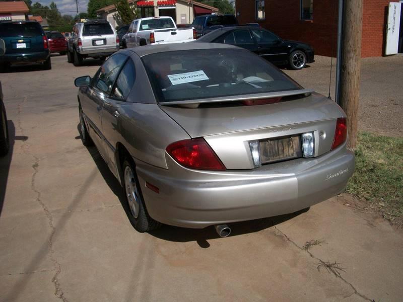 2004 Pontiac Sunfire for sale at W & W MOTORS in Clovis NM