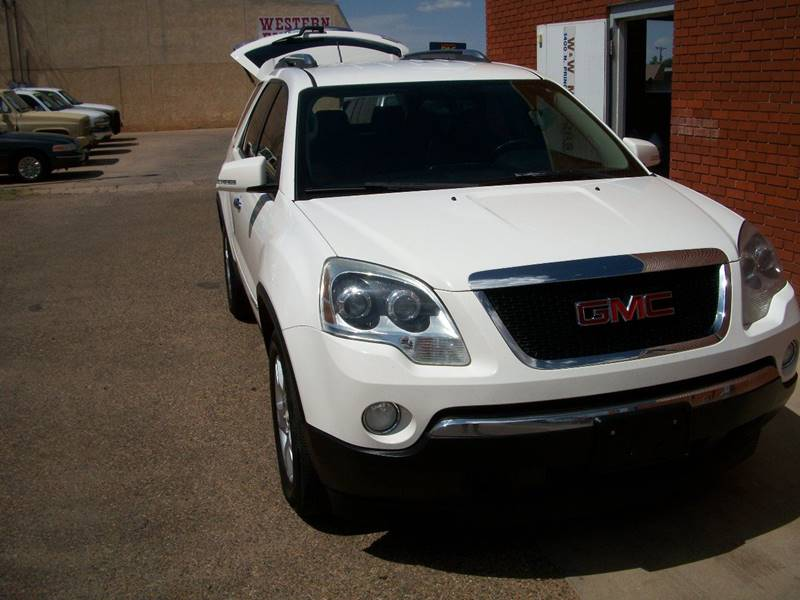 2008 GMC Acadia for sale at W & W MOTORS in Clovis NM