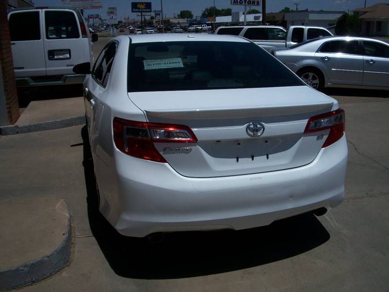 2012 Toyota Camry for sale at W & W MOTORS in Clovis NM