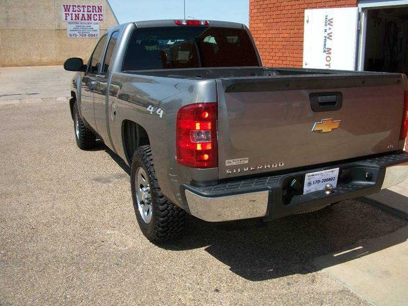 2009 Chevrolet Silverado 1500 for sale at W & W MOTORS in Clovis NM