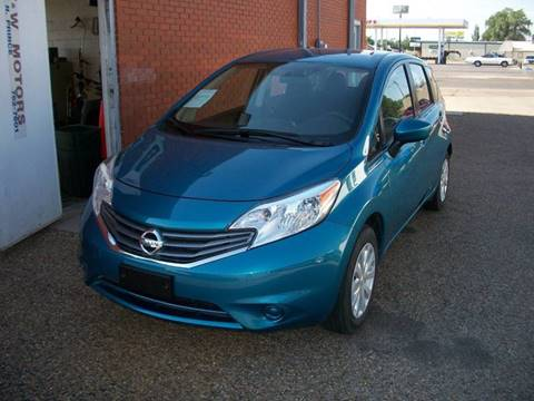 2016 Nissan Versa Note for sale at W & W MOTORS in Clovis NM