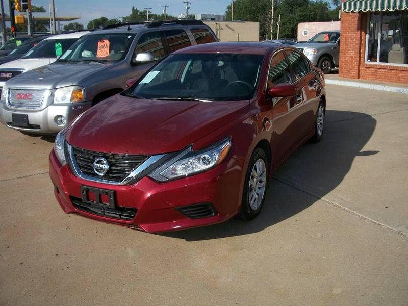 2016 Nissan Altima for sale at W & W MOTORS in Clovis NM