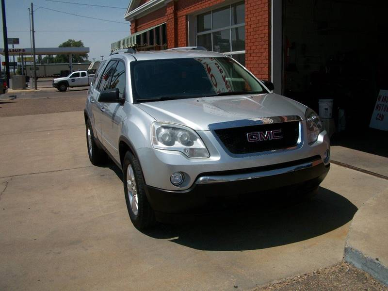 2011 GMC Acadia for sale at W & W MOTORS in Clovis NM