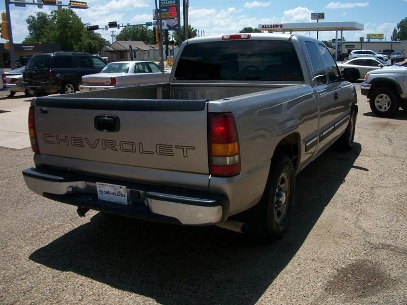 2001 Chevrolet Silverado 1500 for sale at W & W MOTORS in Clovis NM