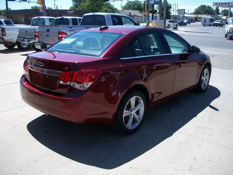 2016 Chevrolet Cruze Limited for sale at W & W MOTORS in Clovis NM