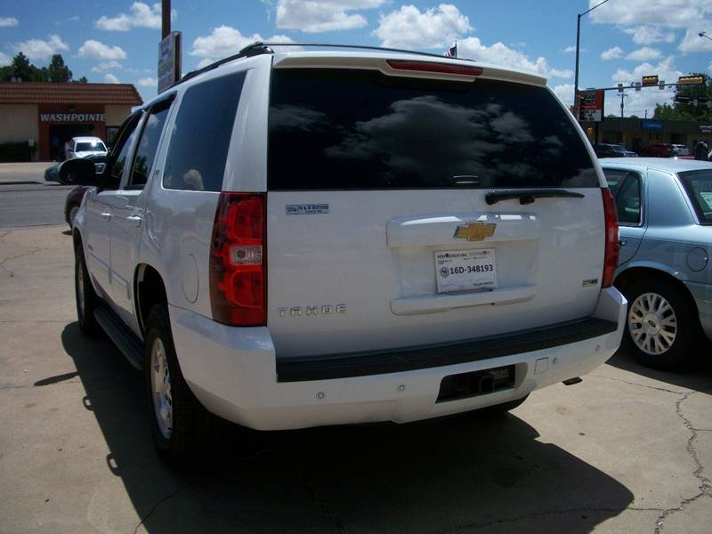 2012 Chevrolet Tahoe for sale at W & W MOTORS in Clovis NM