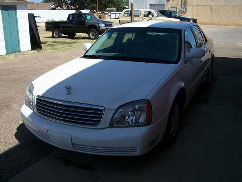 2004 Cadillac DeVille for sale at W & W MOTORS in Clovis NM