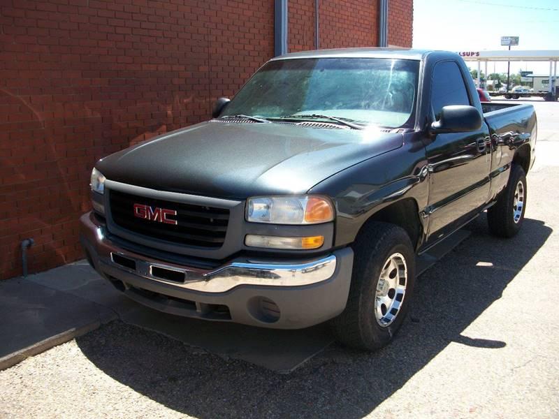 2003 GMC Sierra 1500 for sale at W & W MOTORS in Clovis NM
