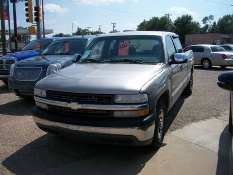 2001 Chevrolet Silverado 1500 for sale at W & W MOTORS in Clovis NM