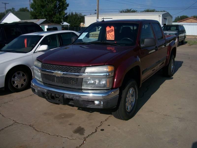 2008 Chevrolet Colorado for sale at W & W MOTORS in Clovis NM