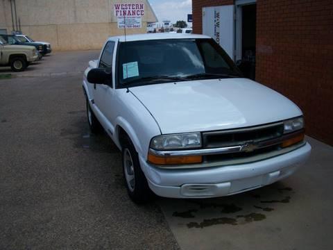 2000 Chevrolet S-10 for sale at W & W MOTORS in Clovis NM