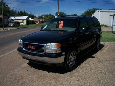 2002 GMC Yukon for sale at W & W MOTORS in Clovis NM