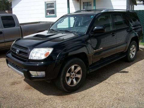 2004 Toyota 4Runner for sale at W & W MOTORS in Clovis NM