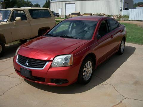 2009 Mitsubishi Galant for sale at W & W MOTORS in Clovis NM