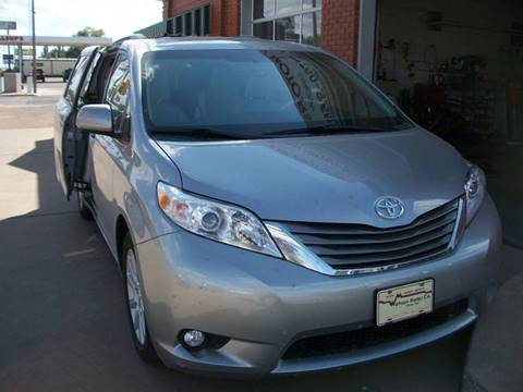 2012 Toyota Sienna for sale at W & W MOTORS in Clovis NM