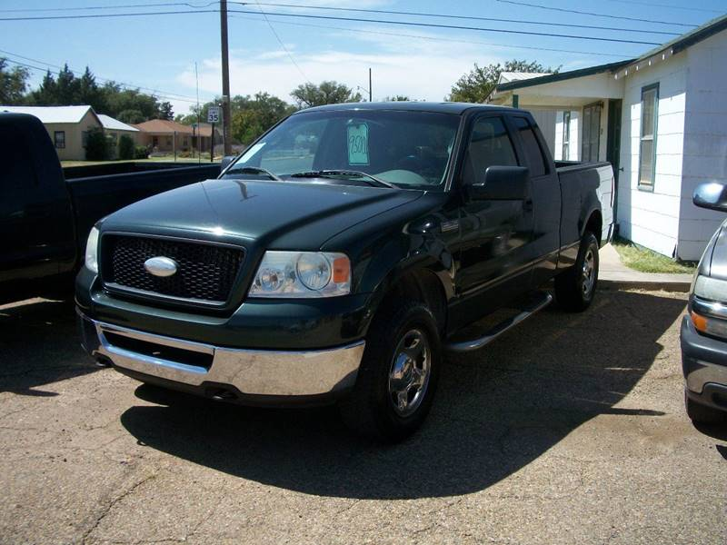 2006 Ford F-150 for sale at W & W MOTORS in Clovis NM