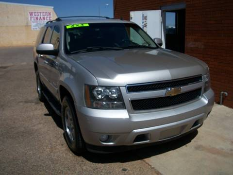2007 Chevrolet Tahoe for sale at W & W MOTORS in Clovis NM