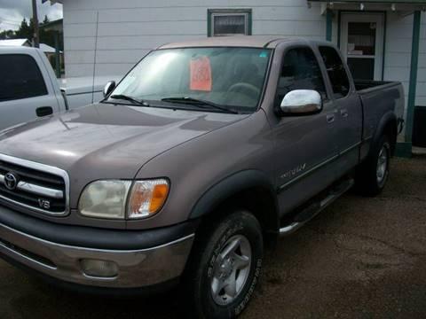 2002 Toyota Tundra for sale at W & W MOTORS in Clovis NM