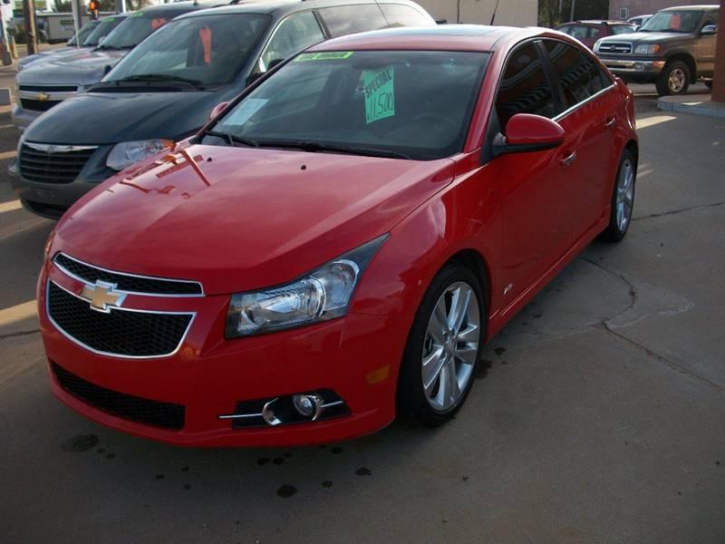 2014 Chevrolet Cruze for sale at W & W MOTORS in Clovis NM