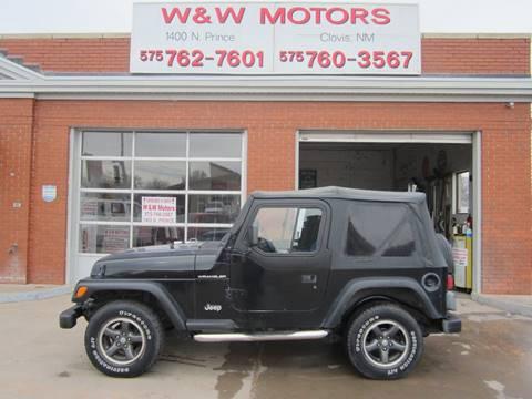 1997 Jeep Wrangler for sale in Clovis, NM