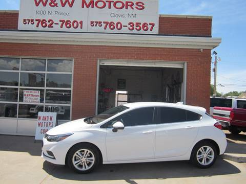 2018 Chevrolet Cruze for sale in Clovis, NM