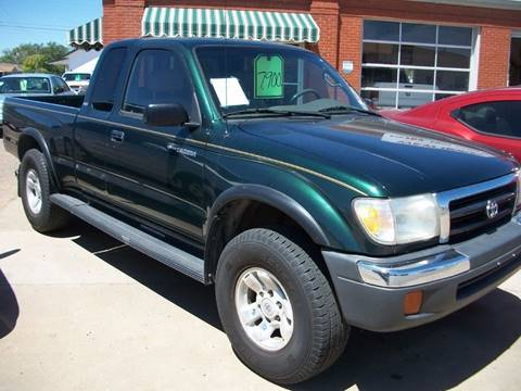1999 Toyota Tacoma for sale at W & W MOTORS in Clovis NM