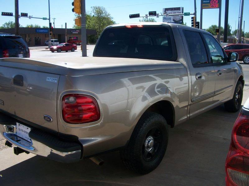 2002 Ford F-150 for sale at W & W MOTORS in Clovis NM