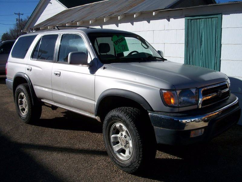 1999 Toyota 4Runner for sale at W & W MOTORS in Clovis NM