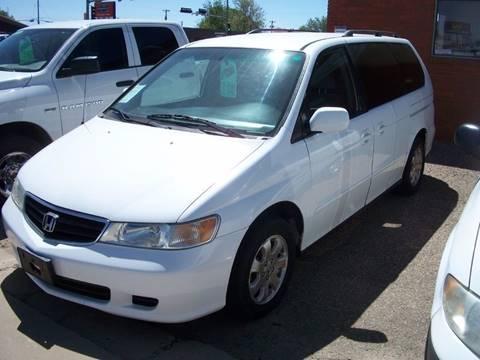 2002 Honda Odyssey for sale at W & W MOTORS in Clovis NM