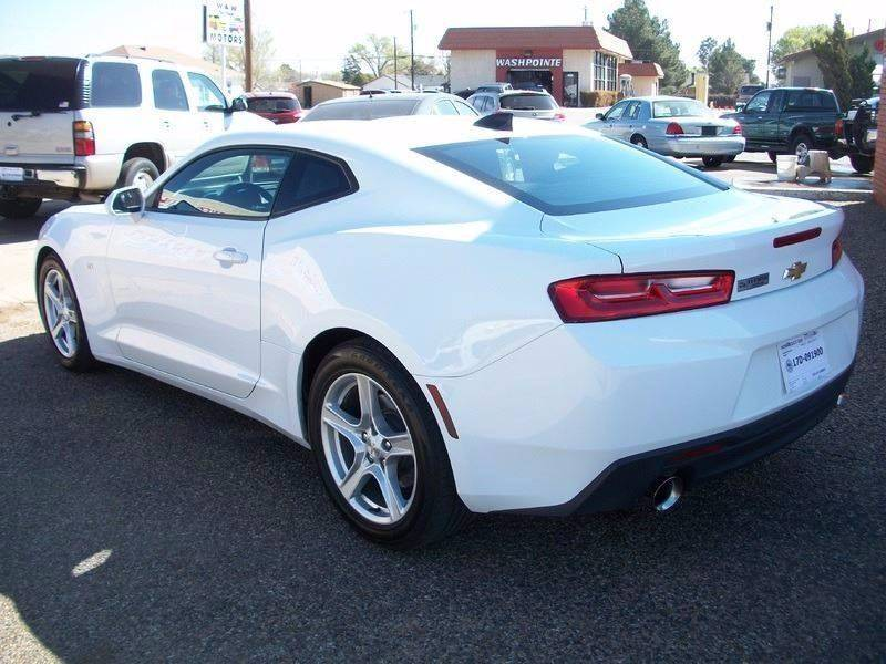 2017 Chevrolet Camaro for sale at W & W MOTORS in Clovis NM