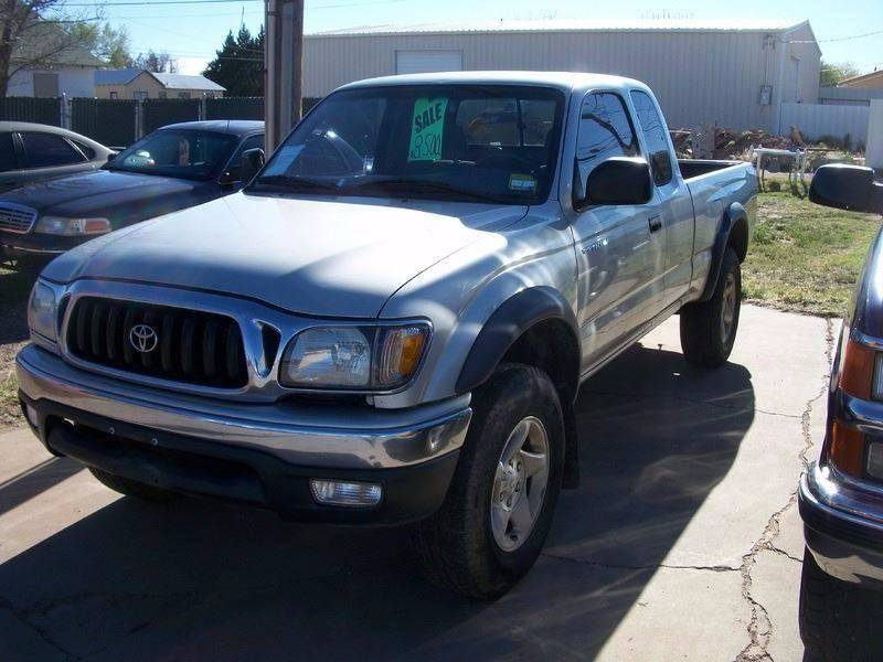 2001 Toyota Tacoma for sale at W & W MOTORS in Clovis NM