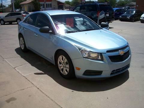 2012 Chevrolet Cruze for sale at W & W MOTORS in Clovis NM