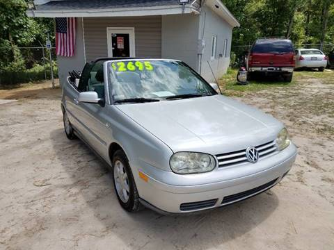 2002 Volkswagen Cabrio for sale in Florence, SC