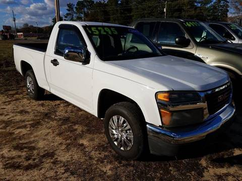 2007 GMC Canyon for sale in Florence, SC