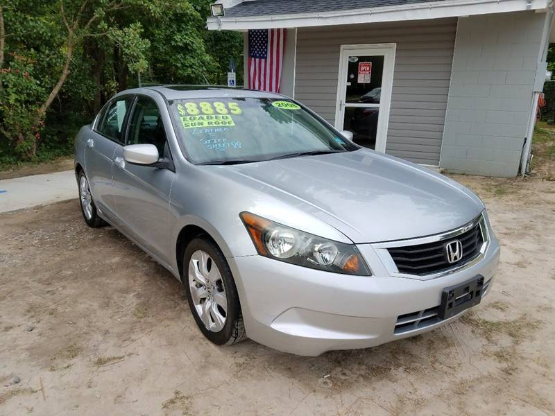 Honda Florence Sc >> 2008 Honda Accord Ex L In Florence Sc Let S Go Auto