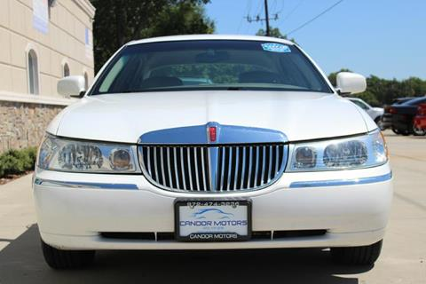 2001 Lincoln Town Car for sale in Mckinney, TX