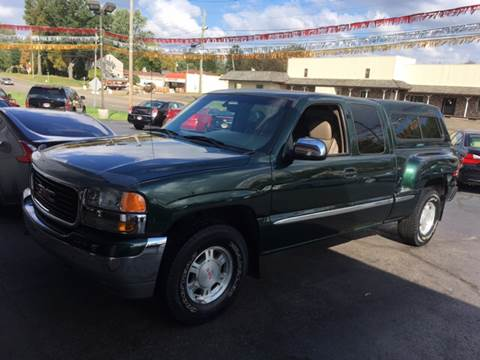 2001 GMC Sierra 1500 for sale in Canton, OH