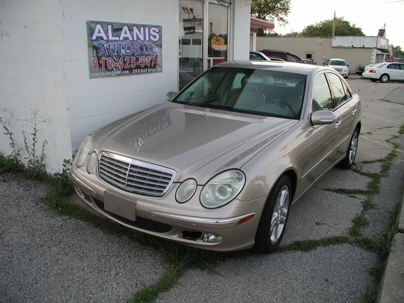 2004 Mercedes-Benz E-Class for sale at Alanis Autos in Belton MO