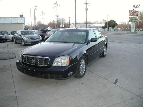 2003 Cadillac DeVille for sale at Alanis Autos in Belton MO