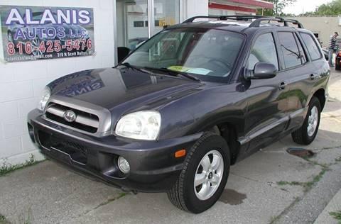 2005 Hyundai Santa Fe for sale at Alanis Autos in Belton MO
