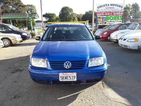 2001 Volkswagen Jetta for sale at Goleta Motors in Goleta CA