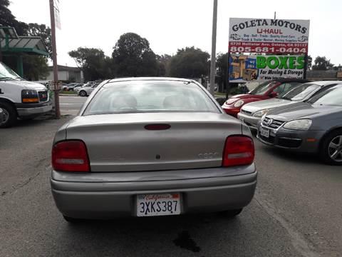 1998 Plymouth Neon for sale at Goleta Motors in Goleta CA