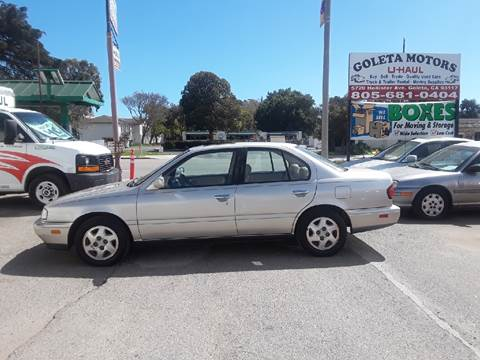 1995 Infiniti G20 for sale at Goleta Motors in Goleta CA
