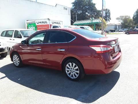 2014 Nissan Sentra for sale at Goleta Motors in Goleta CA