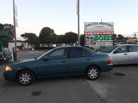 2002 Nissan Sentra for sale at Goleta Motors in Goleta CA