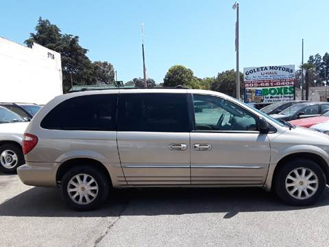 2002 Chrysler Town and Country for sale at Goleta Motors in Goleta CA