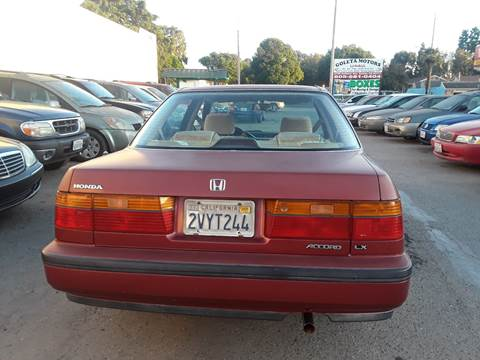 1990 Honda Accord for sale in Goleta, CA