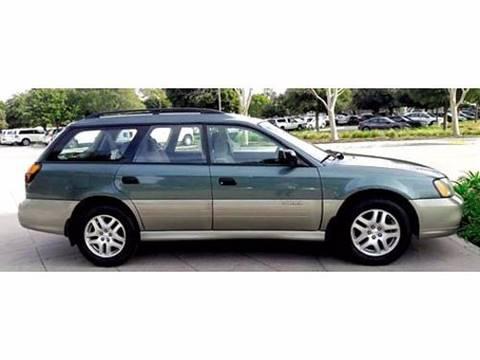 2001 Subaru Outback for sale at Goleta Motors in Goleta CA