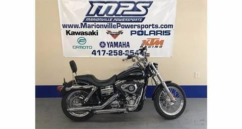 2013 Harley-Davidson FXDC- Super Glide C for sale in Marionville MO